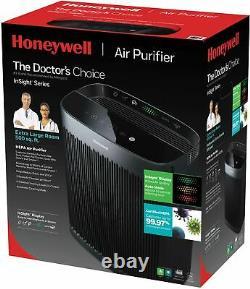 Honeywell Insighttm Hpa5300b 500 Sq. Ft. Purificateur D'air Hepa, Noir