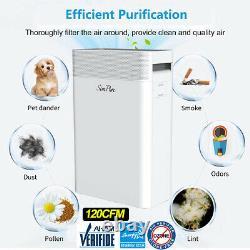 Hp9 Purificateur D'air Pour La Maison Grande Chambre Avec H13hepa Filtre Nettoyant Odor Eliminator
