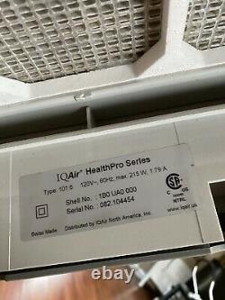Iqair Healthpro Plus 101.6 Super Hepa / Voc Air Purificateur Great Condition