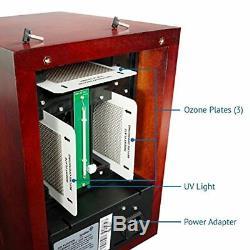 Ivation 5-in-1 Hepa Purificateur D'air Et Générateur Ozone, Ionisateur Et Désodorisant Pour Up
