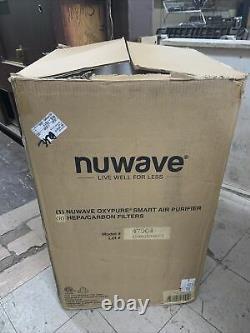 Jamais Utilisé Nuwave Oxypure Grande Surface Smart Air Purificateur Avec4 Filtres Hepa 47004