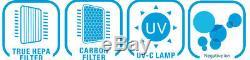 Lavieair Hepa Purificateur D'air Et Ioniseur Aux Uv-c Sanitizer Élimine Les Virus