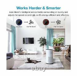 Levoit Air Purifier Grand Home Room H13 True Hepa Filtre Nettoyant Affichage Led Nouveau
