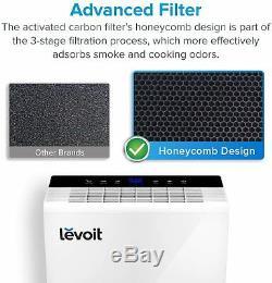 Levoit Lv-pur131 Purificateur D'air Pour La Maison Hepa Filtre Grande Chambre Fumée Poussière