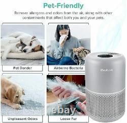 Levoit Pet Care Hepa Purificateur D'air Pour La Maison Allergies Poussière Lint 24db Tout