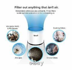 Levoit Purificateur D'air Pour Les Allergies Avec True Hepa Et Filtres À Charbon Actif, Por