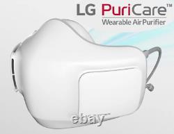 Lg Puricare Smart Face Mask Ap300awfa Purificateur D'air Hepa Portable 3-speed Flow Us