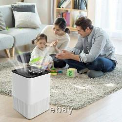 Luftreiniger Ionisator Hepa Filter Raumluftréiniger Air Purifier, Timer 4 Stufen