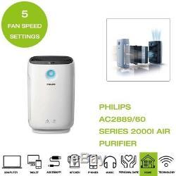 Marque Nouveau Philips Ac2889 / 60 Série 2000i Connected Purificateur D'air Blanc