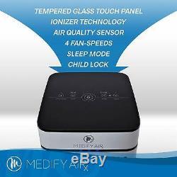 Medify Ma-40 Filtration De Qualité Médicale H13 Hepa Pour 800 Sq. Ft. Purificateur D'air