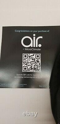 Microclimat Air Masque Nouveau, Inutilisé. Noir. Filtre Hepa