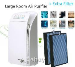 Ms Msa3 Purificateur D'air Pour True Office Filtre Hepa Cleaner Grande Fumée Chambre Poussière
