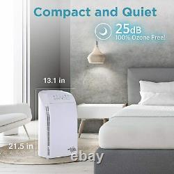 Msa3 Purificateur D'air De Grande Chambre Avec Filtre H13 True Hepa Cleaner 3-stage 1500sqft