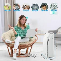 Msa3 Purificateur D'air Pour Grande Chambre H13true Hepa Filtre De Nettoyage D'air Odor Eliminateur