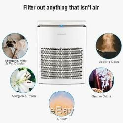 Naturalife Purificateur D'air 3 En 1 Hepa Nettoyage Système D'air Filtres Avec Mode Silencieux