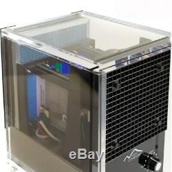 Nouveau Confort Ca3500 Acrylique Lavable Hepa Purificateur D'air Noir