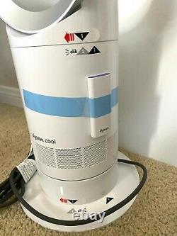 Nouveau! Dyson Cool Am07 Air Multiplier Tower Ventilateur Sans Lame Blanc/argent Avec Télécommande