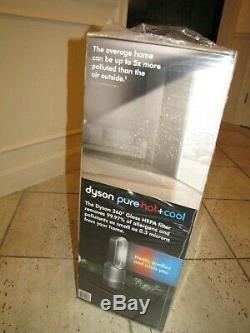 Nouveau Dyson Pur Hot + Refroidir Hp01 Hepa Purificateur D'air Et Tour Fan Sealed Argent