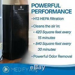 Nouveau Medify Ma-40 Filtration De Qualité Médicale H13 Hepa Purificateur D'air Noir