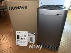 Nuwave Oxy Pure Large Area Smart Air Purificateur Doucement Utilisé Hepa, + 3 Nouveau Fltr