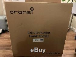 Oransi Erik 650a Vrai Filtre Hepa Pour Toute La Maison Purificateur D'air 110-120 V Blanc
