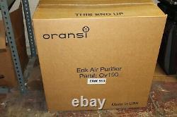 Oransi Erik 900 Série True Filtre Hepa Filtre Toute Purificateur D'air De La Maison 110-120 V Blanc