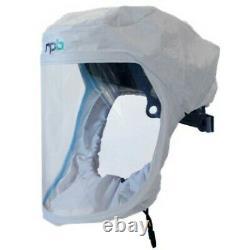 Papr (powered Air Purifying Respirator) Face Hood Batterie Longue Durée De Vie, Hepa Filt