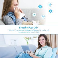 Puissant Hepa Filtre À Air Purificateur Filtre À Enlever L'odeur De Poussière Moule Fumée