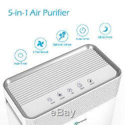 Puremate 5-in-1 Purificateur D'air Avec Filtre Hepa, Carbone Et Ions Négatifs
