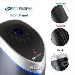 Puremate Pm 520 Multiple Technologies Hepa Purificateur D'air Et Ioniseur 28 Pouces