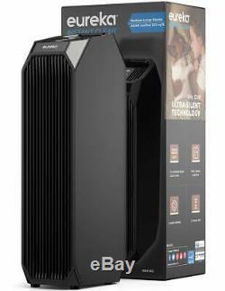 Purificador De Aire 3en1 Ultra Silencioso Hepa Filtre De Carbone Activado Led Uv