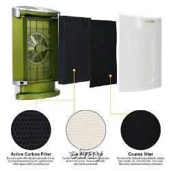 Purificador De Aire Hogar Hepa Eliminador De Alergia 3 Filtros Para 99,7 Purza