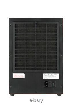 Purificateur D'air Atlas Ionic Ozone Avec Filtre Hepa Lavable (303cho)