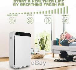 Purificateur D'air Avec Filtre Hepa Pour Les Allergies Animaux / Fumée / Moisissures / Germes / Poussière Accueil