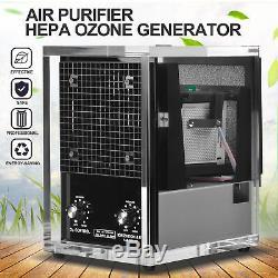 Purificateur D'air Cleaner 6 Ozone Phase Uv Hepa Industriel Générateur Frais Clean Air