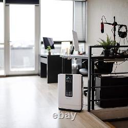 Purificateur D'air Hathaspace Smart True Hepa, 5-en-1 Grand Air Cleaner Charcoal