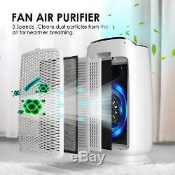 Purificateur D'air Hepa Filtre Minuterie De Contrôle Machines Air Pur Pour Grande Chambre Us