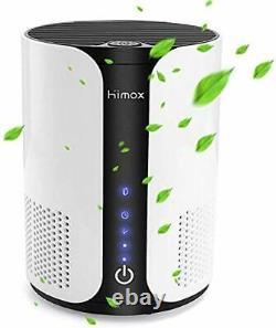 Purificateur D'air Himox Pour Allergies Et Animaux Domestiques, Véritable Hepa Et Carbone Actif