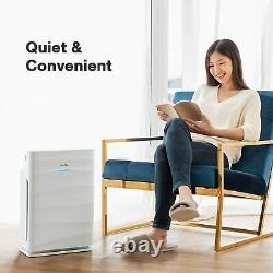 Purificateur D'air Nettoyant Hepa De Catégorie Médicale H13 Pour 1500sq. Ft Odor Réducteur Grande Chambre