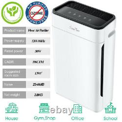 Purificateur D'air Pour Allergies Et Animaux Domestiques, H13 True Hepa Filter Air Cleaner 300sq. C'est-à-dire Qu'il N'y A Pas De