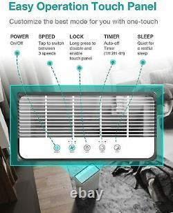 Purificateur D'air Pour Grande Pièce De 900m2, Filtre À Air Pour Fumée, Poussière, Pylône Pour Animaux De Compagnie, Pollinisateurs, Cov
