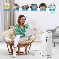 Purificateur D'air Pour Les Chambres Extra-grandes Avec Filtre Hepa De Qualité Médicale H13 1500+sqft