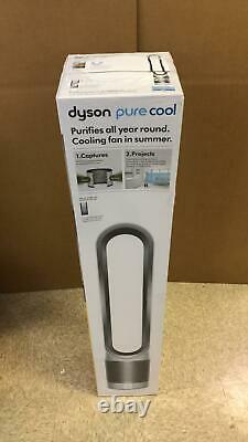 Purificateur D'air Pur Cool Dyson & Ventilateur De Tour -tp01-308247-01- Blanc/argent