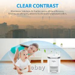 Purificateur D'air True Hepa Filtre Nettoyeurs D'air Odor Allergies Eliminateur Accueil Bureau