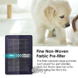 Purificateurs D'air De Chambre True Hepa Filtre Air Cleaner Odor Allergies Éliminateur Silencieux