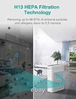Purificateurs D'air Hepa De Qualité Médicale Pour Le Nettoyage D'air Des Grandes Chambres À Domicile Pour Les Allergies