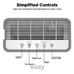 Purificateurs D'air Hepa De Qualité Médicale Pour Nettoyeur D'air À Grande Pièce Pour Les Allergies