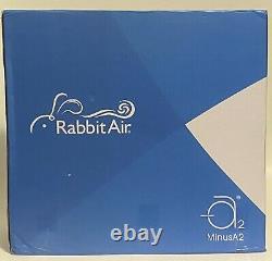 Rabbitair Minusa2 Ultra Quiet Hepa Air Purificateur Spa-700a Blanc, Absorbeur De Toxines