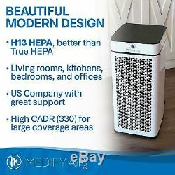 Réformé Medify Ma-40 De Qualité Médicale H13 Hepa Blanc Comprend Un Nouveau Filtre