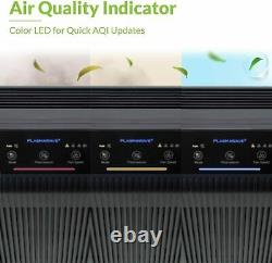 Système De Filtration D'air Purificateur Maison Purificateur Machine True Hepa Filtre Au Carbone